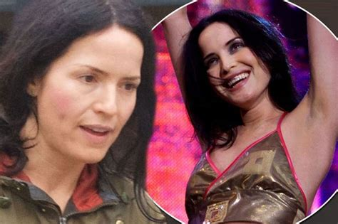 Radiant Andrea Corr shows off her ageless complexion as ...