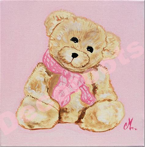 chambre artiste tableau enfant bébé fille oursonne marche personnalisable