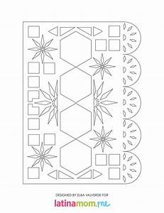 share this on facebook With papel picado template for kids