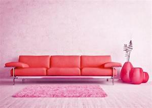 Rotes Sofa Welche Wandfarbe : rosa wandfarbe 25 super sch ne beispiele ~ Bigdaddyawards.com Haus und Dekorationen