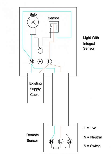 wiring extra sensor  security light diynot forums