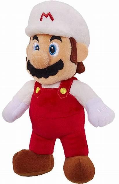 Mario Plush Fire Nintendo Super 17cm Inch