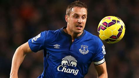 Everton captain Phil Jagielka facing two months out