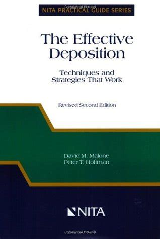 effective deposition techniques  strategies