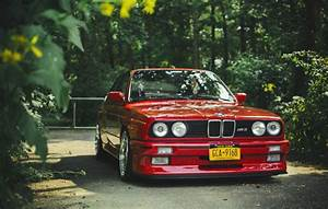 bmw e30 m3 red tuning bmw m3 red to HD wallpaper