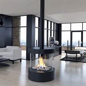 Ortal, U2013, Circle, 70, Circular, Glass, Fireplace