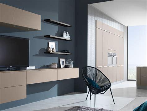 cuisine et salon moderne meuble de salon pour cuisine ouverte harmonie