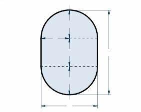 Oval Fläche Berechnen : genormte querschnittsformen f r geschlossene profile nach dwa a 110 bauformeln formeln online ~ Themetempest.com Abrechnung