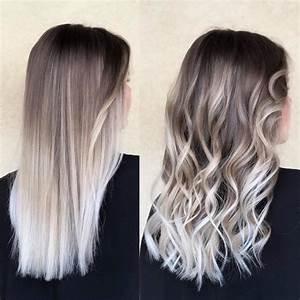 Ombre Hair Blond Polaire : ombre ash blond fortuna coiffure facebook ~ Nature-et-papiers.com Idées de Décoration