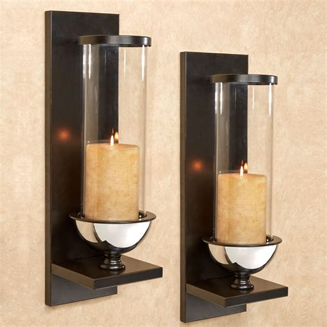 wall sconce lucrezia contempo hurricane wall sconce pair