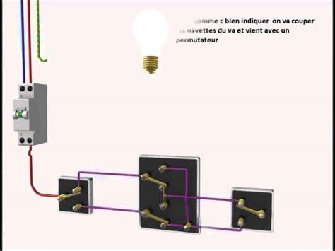 branchement electrique interrupteur le le branchement de trois interrupteurs va et vient