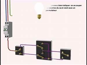 Le Va Et Vient : le branchement de trois interrupteurs va et vient youtube ~ Dailycaller-alerts.com Idées de Décoration