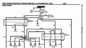 5 Lug E30 Obdi M52  S50 B30 Injection Schematic    Wiring