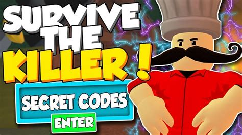 Es expire or not, but if they expire, we will list them here: Code di game survive the killer - YouTube