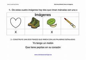 Actividades de rimas para alumnos con dislexia imagenes 1 Orientación Andújar Recursos