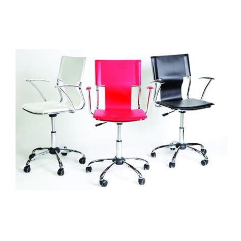 bureau basika chaise de bureau blanc
