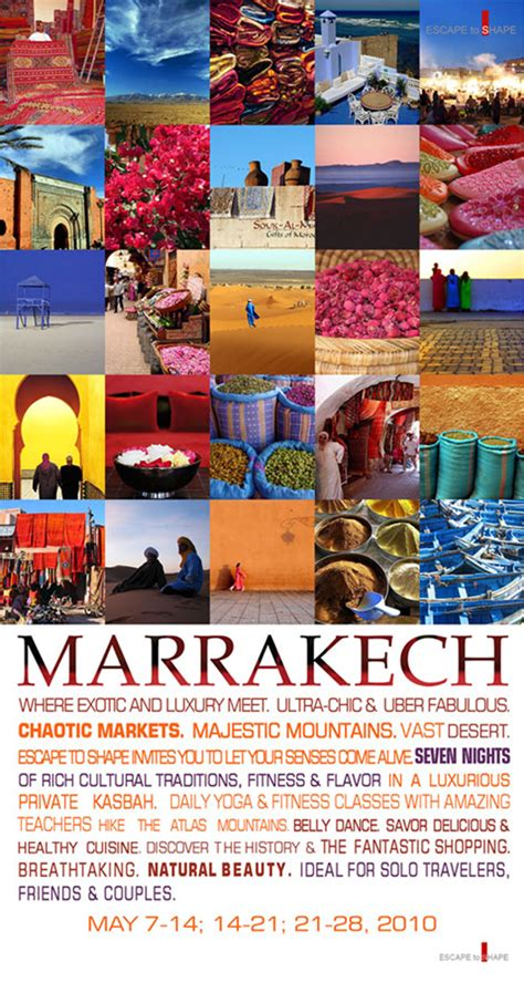 marrakech newsletter design subraa
