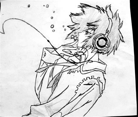 anime cool boy drawing cool anime drawings cool anime 5th generationxinje on