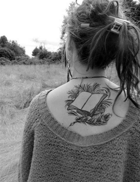 71 Cool Book Tattoos That Are Pretty Badass