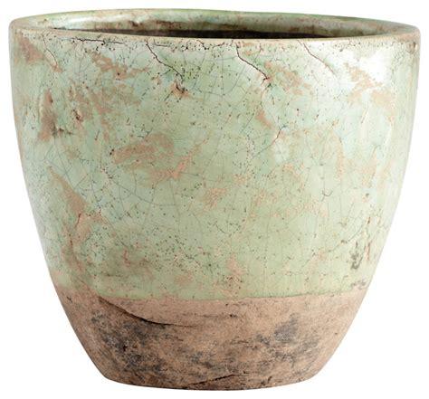 cyan design large hosta planter rustic indoor pots and