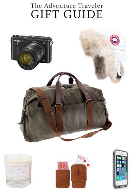 holiday gift guide for the adventure traveler