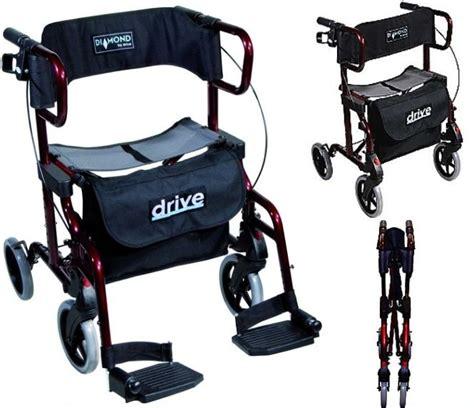 d 233 ambulateur fauteuil de transfert 2 en 1