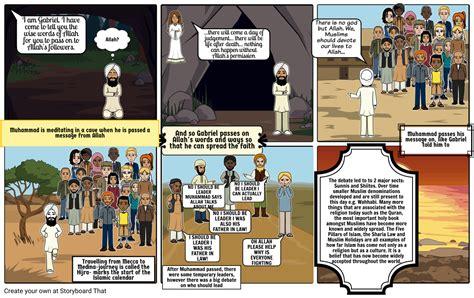 History-Islamic story Storyboard by 9304695e