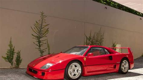 F40 Cost by The Most Iconic Built The F40