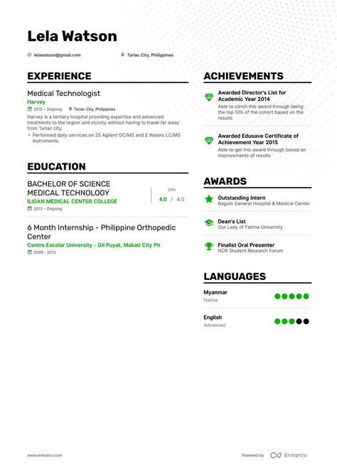 undergrad resume format  undergraduate students