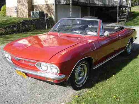 sell   corvair monza  convertible  honeoye