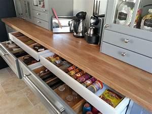 Rangement Tiroir Cuisine : rangement cuisine grand tiroir organisation maison ~ Melissatoandfro.com Idées de Décoration