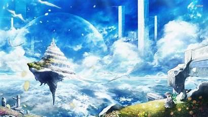 Island Floating Anime Wallpapers Fairy Nadyn источник