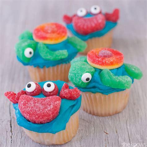 sea turtle cupcakes ideas  pinterest