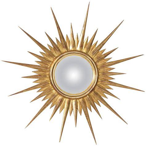 Vintage Sunburst Mirror by Antique Gold Leaf Sunburst Mirror At 1stdibs