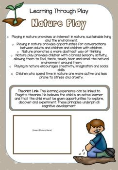 learning  play poster set  early years learning