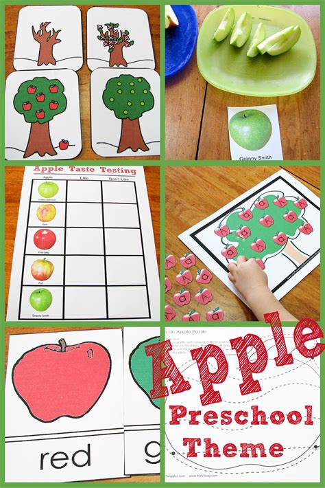 s helper apple preschool theme 315 | appletheme