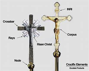 What Are The Parts Of Crosses And Crucifixes