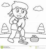 Curling Coloritura Arricciatura Krullen Speel Meisje sketch template