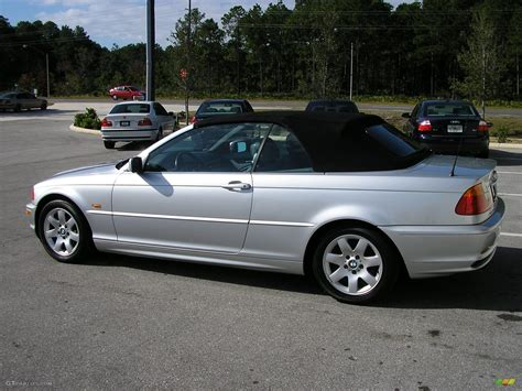 2001 Bmw Convertible by 2001 Titanium Silver Metallic Bmw 3 Series 325i