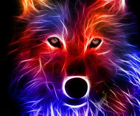 electric wolf wallpaper abstract wolf cool backgrounds