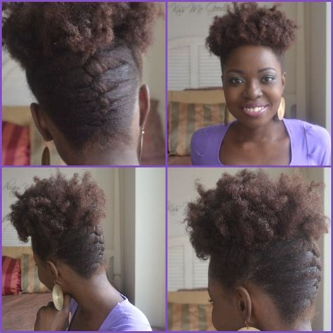 From the Editor   French Braid Updo Tutorial   Brown Skin