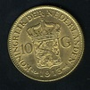 NETHERLANDS 10 GULDEN GOLD COIN, MINTED IN 1913|World ...