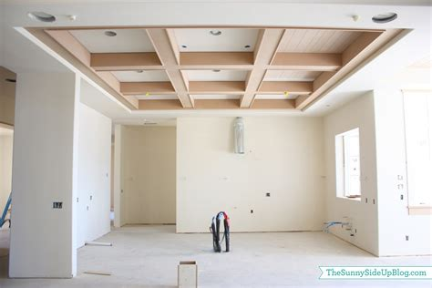 Box Beam Ceiling by House Update The Side Up