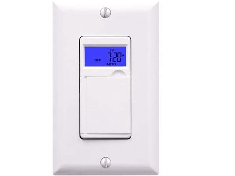 7 day 24 hour programmable timer wall switch enerlites