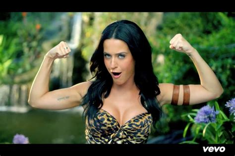 Katy Perry Has Some Guns