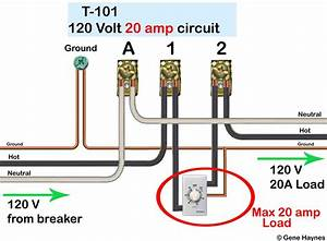 Intermatic T101 Timer Wiring Diagram