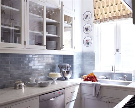 blue tile backsplash kitchen white and grey subway tile designs furnitureteams com