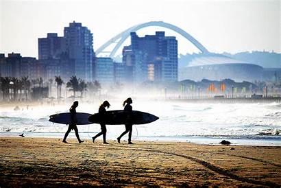 Durban Tourism Africa Etas Surfing Surf South