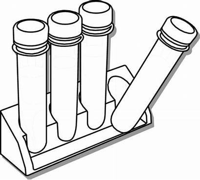 Science Clipart Test Tube Drawing Tubes Rack