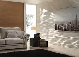 wandpaneele eine trendige tendenz bei der wandgestaltung With balkon teppich mit wandgestaltung mit tapeten wohnzimmer